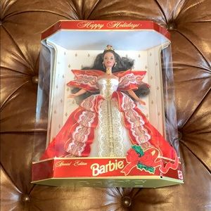 10th Anniversary Happy Holidays Barbie 1997